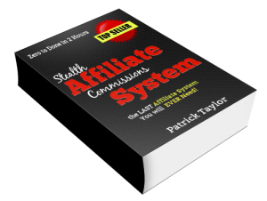 E-book cover for Stealth Affiliate Commissions System